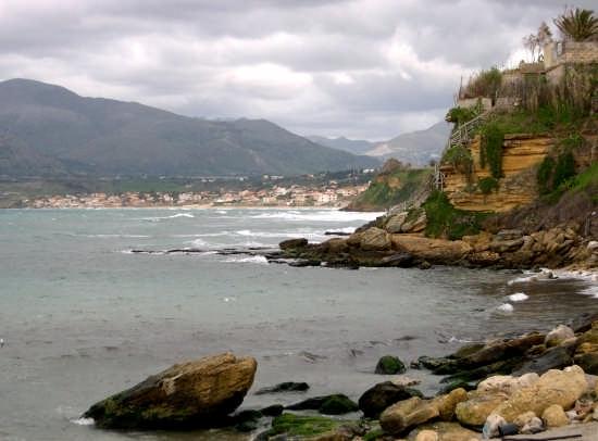 La costa - Trappeto (4505 clic)