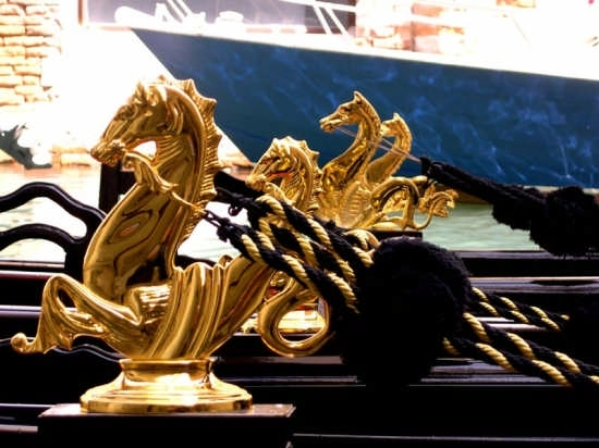Le gondole - Venezia (2527 clic)