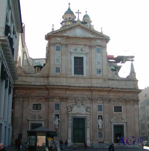 Chiesa del Gesù - Genova (6836 clic)