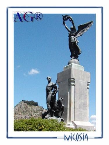 Monumento ai caduti della prima guerra mondiale - Nicosia (5586 clic)