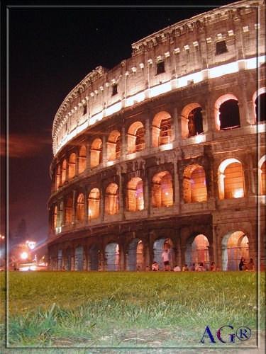 Colosseo di notte - Roma (13325 clic)