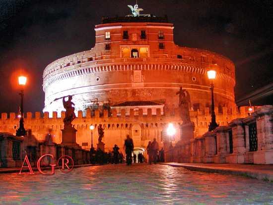 CASTEL SANT'ANGELO BY NIGHT - Roma (4922 clic)
