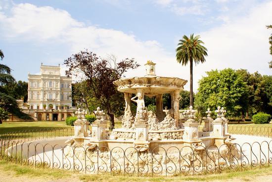 Villa Pamphili - Roma (1326 clic)
