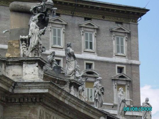 Roma, Piazza San Pietro (1913 clic)