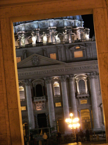 Basilica di San Pietro - Roma (1954 clic)