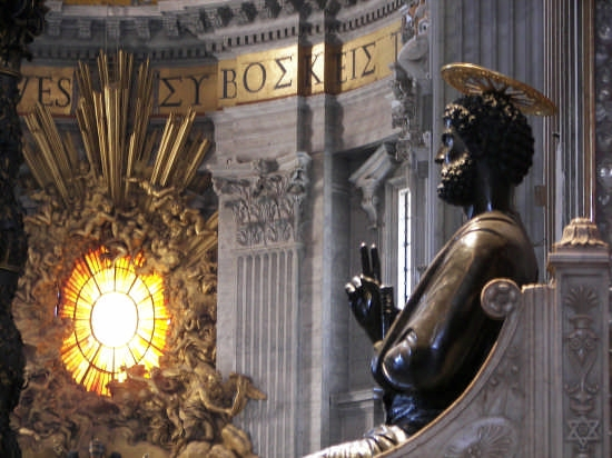 Basilica di San Pietro - Roma (2840 clic)