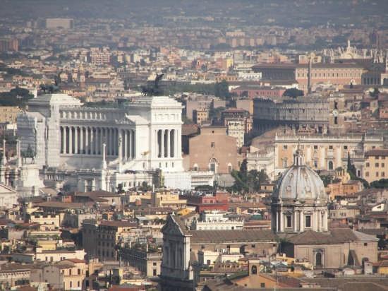 Roma dall'alto (10772 clic)