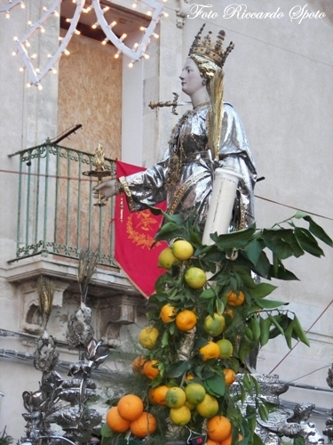 Siracusa, festa di Santa Lucia (4057 clic)