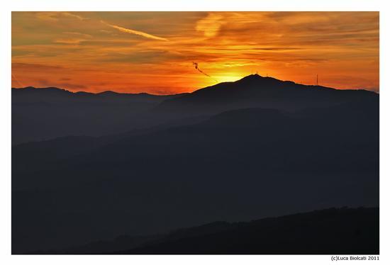Sunset from Pietra Parcellara - Travo (1652 clic)