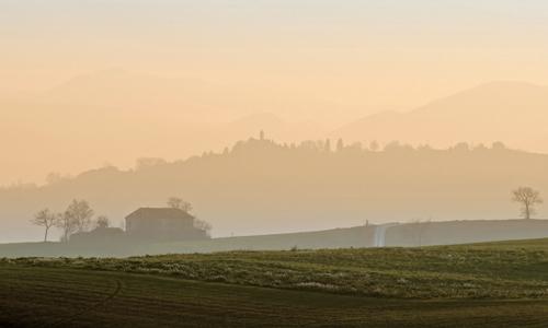 Tramonto - Tolentino (2090 clic)