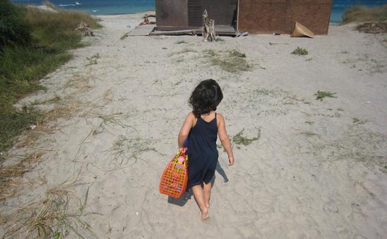 Io.....me ne vado al mare!!!!!! - SAN FOCA - inserita il 31-May-11