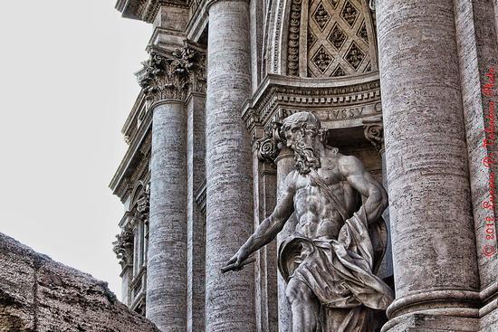 Fontana di Trevi (4) - Roma (1037 clic)