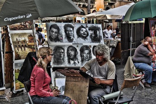 Piazza Navona - Roma (1365 clic)