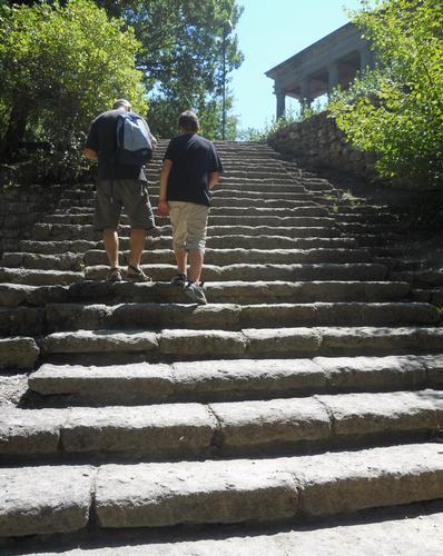 gradini del passato - Bomarzo (2021 clic)