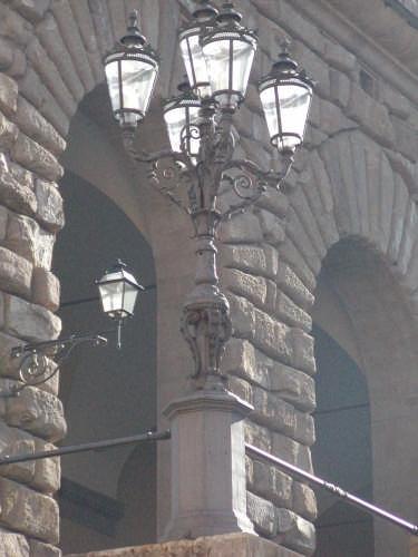 Oltrarno, dettaglio Palazzo Pitti - Firenze (2037 clic)