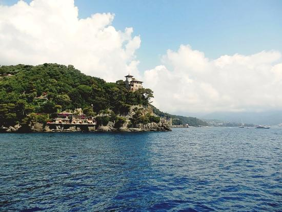 Lasciando la baia... - Portofino (881 clic)