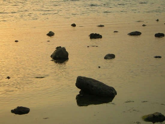 tramonto sul mare - Agrigento (4158 clic)
