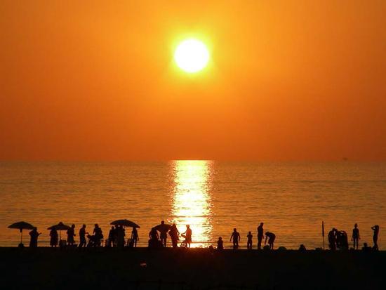 tramonto - Scoglitti (2928 clic)