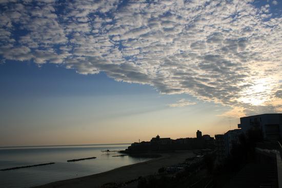 All'imbrunire sul mare - Termoli (1177 clic)