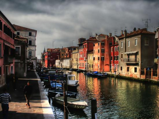Canale di Chioggia. (2322 clic)