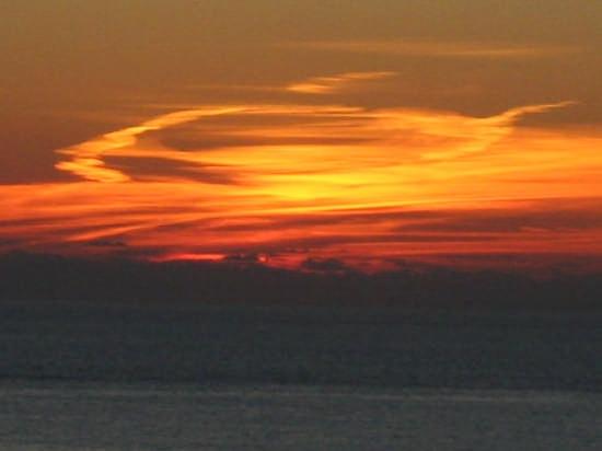 Corniglia - tramonto  (2040 clic)
