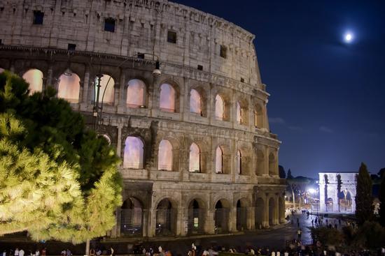 COLOSSEO BY NIGHT - Roma (1581 clic)