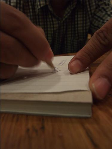 Le mani e l'indiano (795 clic)