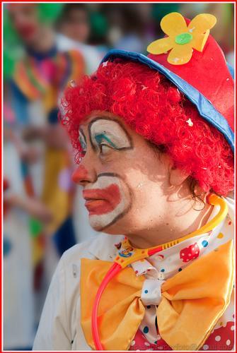 Clown triste - Foto Rieti (1754 clic)