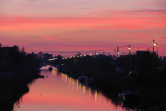 Tramonto sul fiume - Terracina (3171 clic)