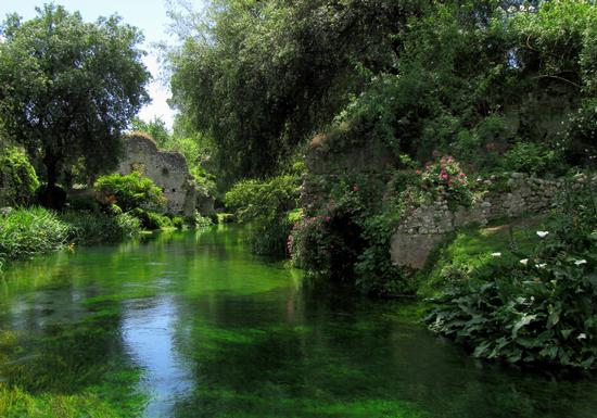 Giardino di Ninfa - Cisterna di latina (869 clic)