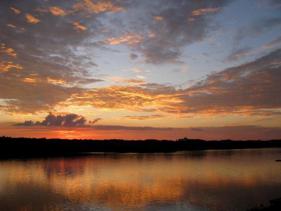 Tramonto sul Lago - Sabaudia (782 clic)