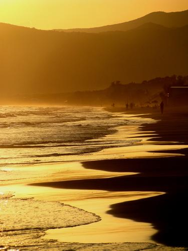Pescatori al tramonto - Sperlonga (2069 clic)
