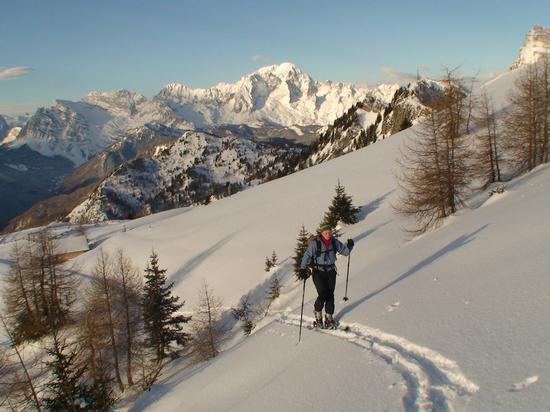 Sci alpinismo  - Forno di zoldo (1822 clic)