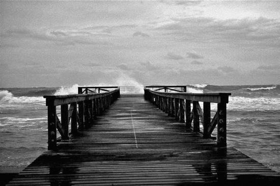 Il molo - Ostia (2217 clic)