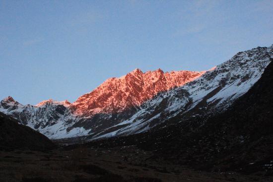 Tramonto in Val Grande - Vezza d'oglio (2090 clic)
