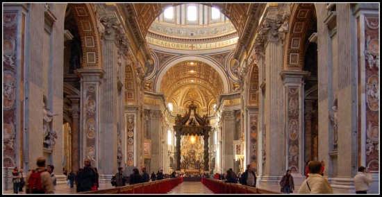 S. Pietro: interno - Roma (5504 clic)