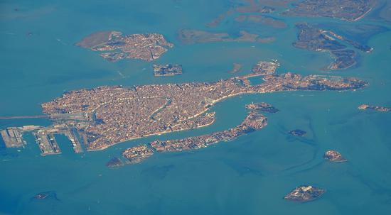 Venezia dall ' alto (4116 clic)