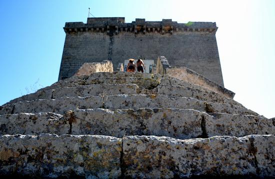 Torre dall 'alto - Santa maria al bagno (2550 clic)