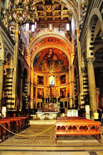 Cattedrale dall'interno - Pisa (1586 clic)