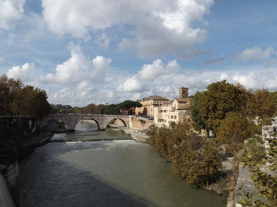 il tevere  - Roma (2080 clic)