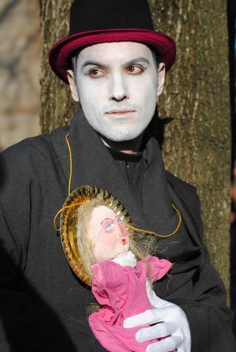 figurante del carnevale - San felice sul panaro (1598 clic)