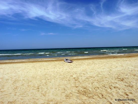 Tra cielo, mare e sabbia - Senigallia (2047 clic)