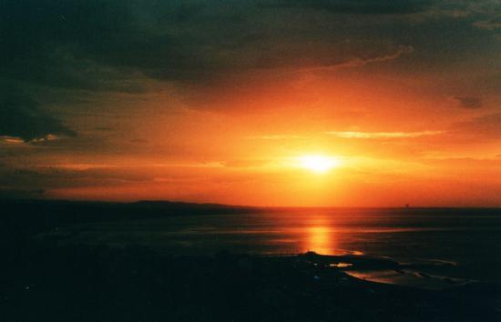 tramonto su rimini - GABICCE MONTE - inserita il 29-Feb-12