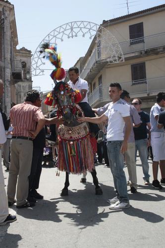 FESTA IN ONORE DELLA MADONNA  MARIA SANTISSIMA DEL MONTE - Racalmuto (2435 clic)