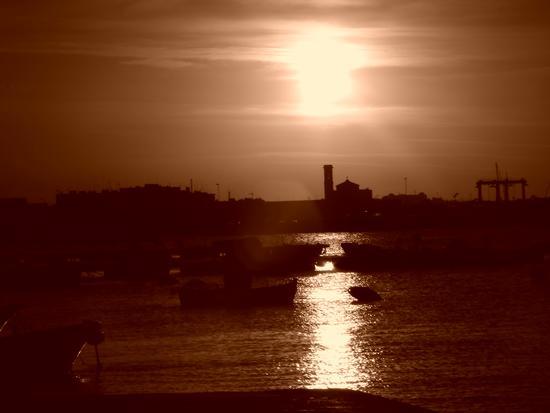 tramonto a molfetta (1918 clic)