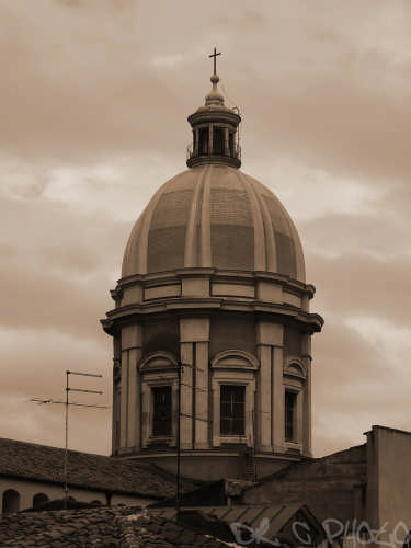 La Cupola della Cattedrale SS. Maria la Nova - Caltanissetta (3247 clic)
