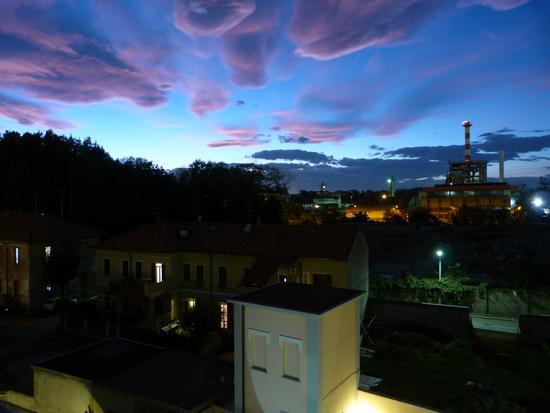 tramonto su sedime - Castellanza (1260 clic)
