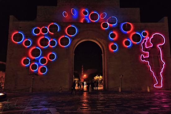 Illuminando Lecce 2011 - Porta Napoli (2798 clic)