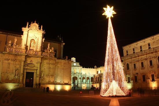 Natale 2011 Piazza Duomo - Lecce (3231 clic)