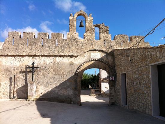 Ingresso Castello di Balata di Baida  (TP) - Castellammare del golfo (4854 clic)